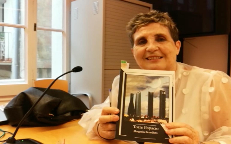 Margarita Benedicto presenta su novela 'Torre Espacio'