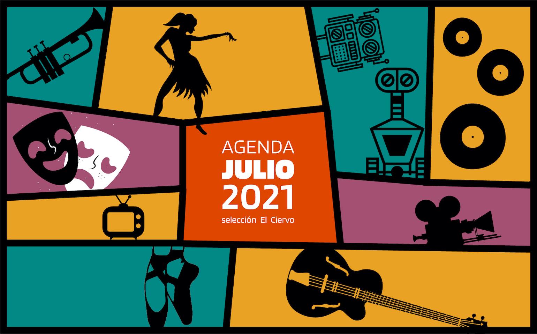 Agenda El Ciervo JULIO