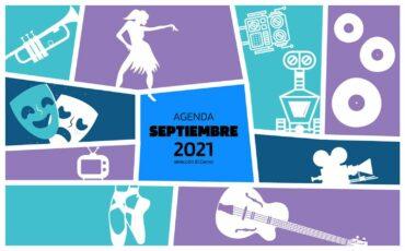 Agenda cultural septiembre