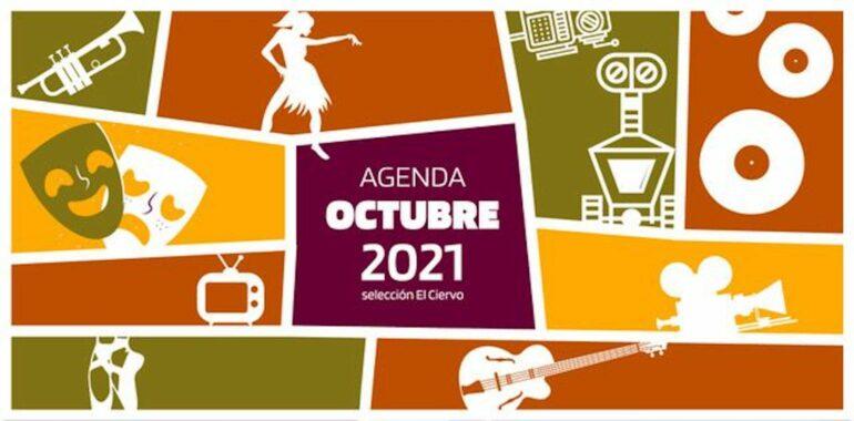 Agenda cultural octubre slide